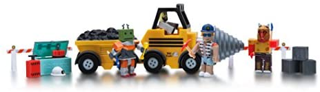 Roblox Action Collection - Operation TNT Playset [Includes Exclusive Virtual Item]: Toys & Games