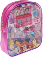 Townley Girl Disney Princess Cosmetic Backpack Set, 11 CT: Clothing
