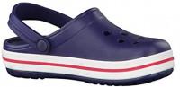 Crocs Kids' Crocband Clog, Navy/Red, 9 M US Children | Clogs & Mules