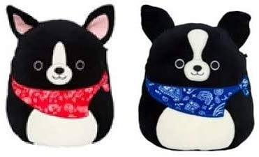 "Squishmallow Kellytoy 2020 Mini 5"" Black Dogs Set 2 Plush Toy: Toys & Games"