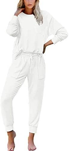 NSQTBA Lounge Sets for Women Tie Dye Sweatsuit 2 Piece Outfits Soft Pajamas Set: Clothing