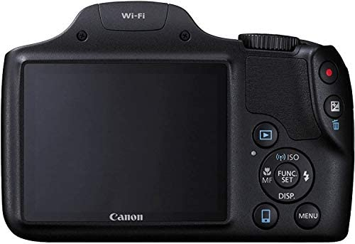 Canon PowerShot SX530 HS Wi-Fi Digital Camera with 32GB Card + Case + Battery & Charger + Tripod + Kit : Camera & Photo