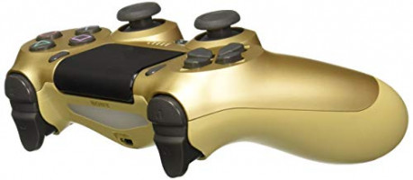 Sony Dualshock 4 Wireless Controller for PlayStation 4 - Gold - PlayStation 4: Video Games