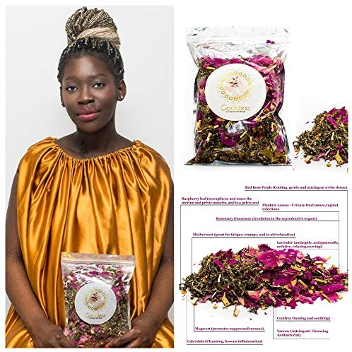 Goddess Blend Yoni steam herbs for cleansing and tightening Yoni Steam Vaginal Steam Holistic V Steam Yoni Detox Calming Therapy Multi Herb Concentrated Blend 3.8oz: Health & Personal Care