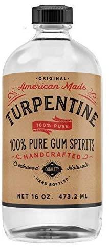 16 Oz 100% Pure Gum Spirits of Turpentine: Health & Personal Care