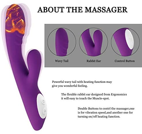 Body Massager Sports Portable Super Quiet Full Body Body Trigger Point Therapy Self Massager Tool - Myofascial Release Tool & Deep Muscle Self Massage Stick: Health & Personal Care