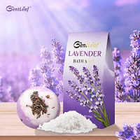 Bath and Body Gift Set for Women, GentLeaf Home Spa Basket Scented with Jasmine Lavender, Luxury Bath Set Includes Bath Bomb/Soap/Essential Oil 8 Pcs, Perfect Relaxing Bath Gift Basket for Her: Health & Personal Care