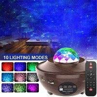 Star Projector,Amouhom Starlight Projector for Kids Baby Led Night Light Projector with Bluetooth Speaker for Bedroom Decor Music Ocean Wave Projector Gift for Girl boy Bedroom Living Ceiling: Home & Kitchen