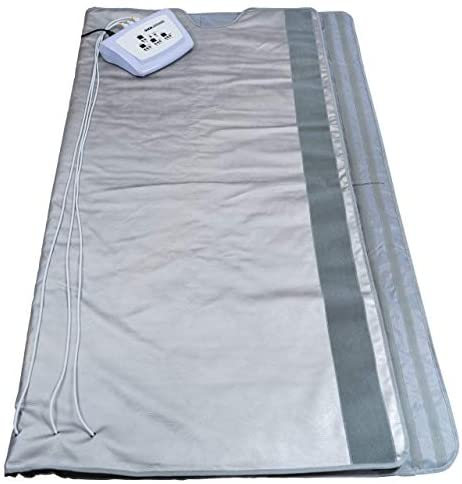 Gizmo Supply 3 Zone Digital Far-Infrared Heat Sauna Blanket v3 (Regular): Sports & Outdoors