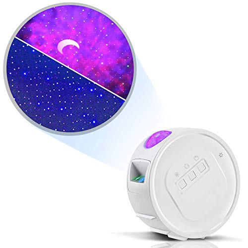 Star Light, Starry Sky Projector for Baby, Kids, Adults, 3 in 1 Ocean Wave, 6 Lighting Effects, 4H Auto-Off, for Game Rooms, Home Theatre, Baby Room or Party Starry Sky Light: Home Improvement