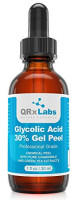 Glycolic Acid 30% Gel Peel with Chamomile and Green Tea Extracts - Professional Grade Chemical Face Peel for Acne Scars, Collagen Boost, Wrinkles, Fine Lines - Alpha Hydroxy Acid - 1 Bottle of 1 fl oz: Beauty