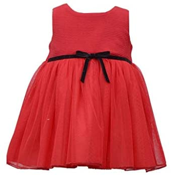 Bonnie Jean Girl's Holiday Christmas Dress and Coat Set for Baby, Toddler and Little Girls: Clothing