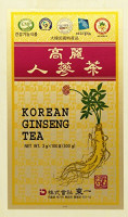 Korean Ginseng Tea in Wood Case 0.10oz(3g) x 100 Packets : Grocery & Gourmet Food