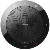 Jabra Speak 510 Wireless Portable USB and Bluetooth Speaker for Softphone and Mobile Phone Bundle with Circuit City 2.4GHz Wireless Optical Mouse, Thin Mouse Pad and Microfiber Cloth: Home Audio & Theater