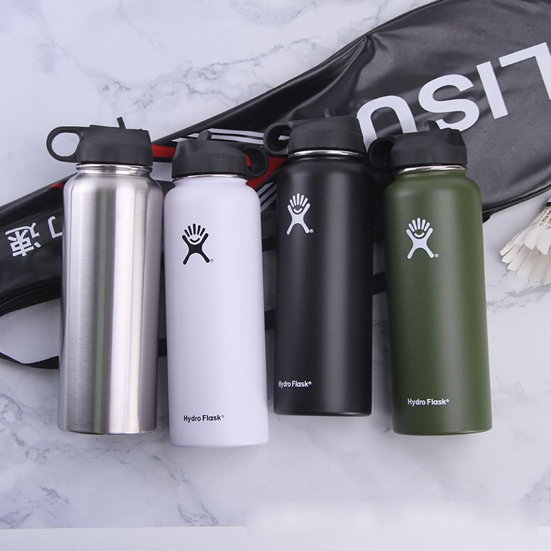 40oz Stainless Steel & Vacuum Insulated Water Bottle