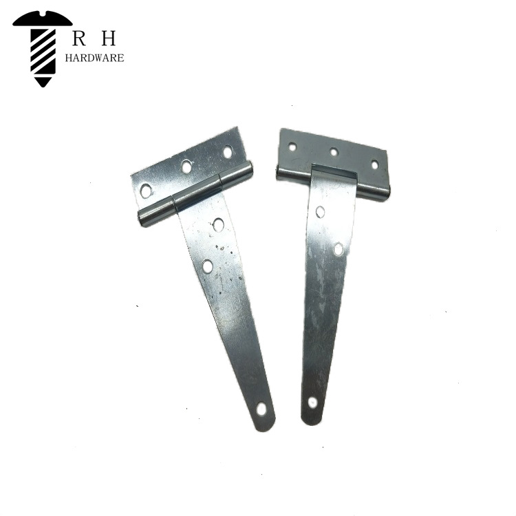 Ronghe Galvanized T-shaped Hinge T-shaped Hinge Triangle Hinge Slotted Bearing Door 2-12 Inches