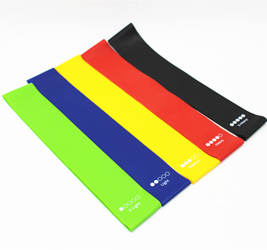 Resistance Exercise Band for Home Fitness, Crossfit, Stretching, Strength Training, Physical Therapy