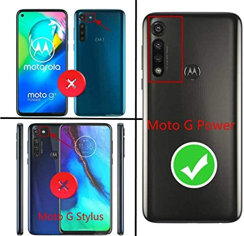 Moto G Power Case with Tempered Glass Screen Protector (Full Coverage), E-Began Glitter Liquid Quicksand Sparkling Diamond, Girls Women Cute Phone Case for Motorola Moto G Power (2020) -Pink/Aqua