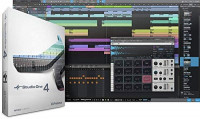 Presonus AudioBox 96 USB 2.0 Audio Interface Studio Bundle with Studio One Artist Software Pack (Interface Color May Vary in Blue or Black): Musical Instruments