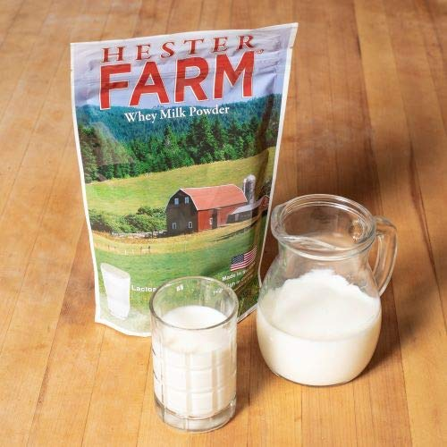 Hester FARM Lactose-Free Whey Milk, 400g: : Grocery & Gourmet Food