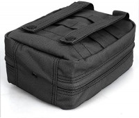 Tactical MOLLE EMT Pouch Medical Utility Bag 1000D Nylon with First Aid Patch and Shear : Sports & Outdoors