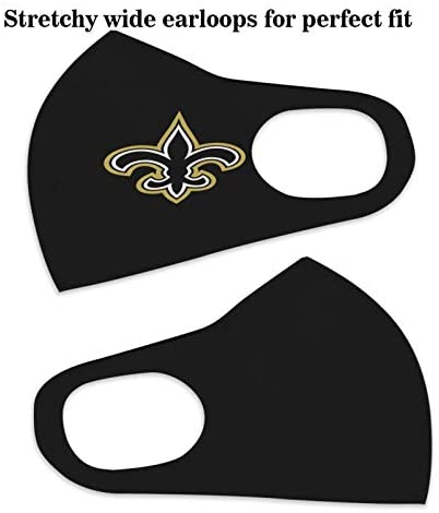 Fremont Die Ne-w Orlea-ns S-aints Logo NFL Outdoor Bandanas,Decorative Masks,Mouth Guard,Balaclava,Neck Gaiter Dustproof Scarf,Face Cover: Home & Kitchen