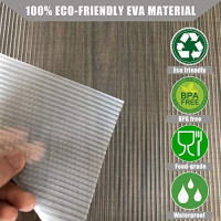 Shelf Liner, 17.5IN X 20FT Drawer Liner, Double Sided Non-Slip Non-Adhesive Cabinet Liner, Waterproof Shelf Liners Refrigerator Mats for Kitchen Cabinets, Pantry, Bathroom, Laundry Room, Shoe Rack