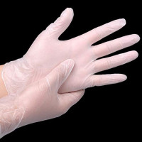 Disposable Gloves, Nitrile Household Cleaning Gloves, Food Grade PVC Gloves, Large Medium, 50 per Pack, Latex Free, Powder Free (L): Health & Personal Care