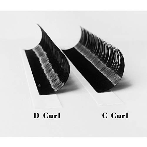 Easy Fan Volume Lash Extensions DD-0.05-12 Automatic Blooming Flower Lashes C curl D curl Self Fanning Lashes Auto Fan 3D 4D 5D 8-15 Mix Length (DD-0.05-12mm) : Beauty
