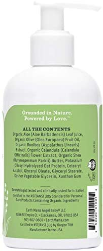 Earth Mama Natural Simply-Scents Baby Lotion with Organic Calendula, 8-Fluid Ounce: Health & Personal Care