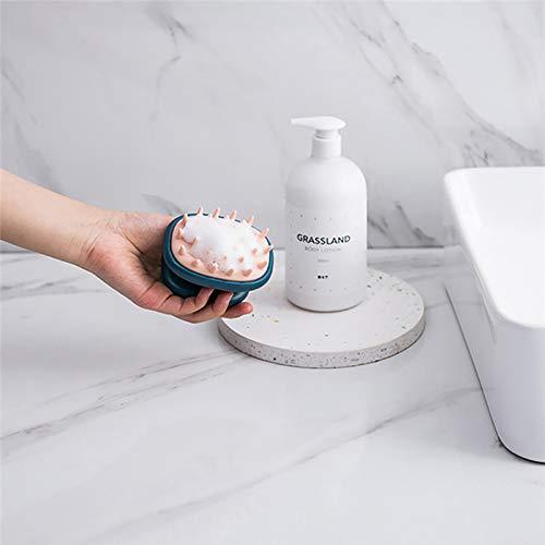 Lasamot Hair Scalp Massager Shampoo Brush Soft Silicone Wet and Dry Hair Brush Scalp Massage Brushes Hair Washing Comb Bath Brush: Beauty