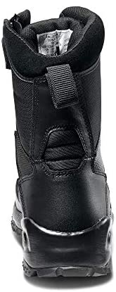 """5.11 Tactical Men's ATAC 2.0 8"""" Leather Black Combat Military Side Zip Boots, Style 12391: Shoes"""