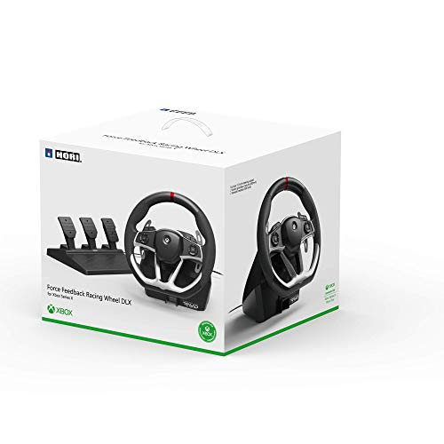 HORI Force Feedback Racing Wheel DLX Designed for Xbox Series X|S - Officially Licensed by Microsoft: Video Games