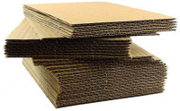 """100 EcoSwift 8.5x11 Corrugated Cardboard Filler Inserts Sheet Pads 1/16"""" Thick 8.5 x 11: Office Products"""