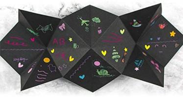 Yugust Creative Surprise Box DIY Scrapbook, Photo Album Explosion Box Handcraft Gift for Wedding Birthday Anniversary Valentines Love Memory Scrapbooking