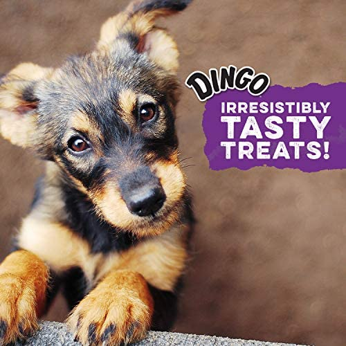 Dingo Twist Sticks 50 Count, Rawhide for Dogs, Made with Real Chicken : Pet Supplies