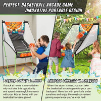 TGU Arcade Basketball Gifts - Kids Basketball Arcade Games for Boys Girls, Child & Grandchild, Age 3 4 5 6 7 8 9 10 Years Old | Birthday Christmas Party : Sports & Outdoors
