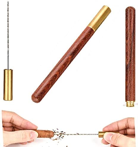 Cigar Draw Enhancer Tool QBOSO Travel Cigar Draw with Wooden Case,Getting More 30% Benefit for Each Shot. (Simple): Kitchen & Dining