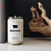 Homesick Scented Candle, Montana: Home & Kitchen