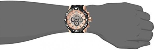Invicta Men's Pro Diver Stainless Steel Quartz Diving Watch with Polyurethane Strap, Two Tone, 26 (Model: 23708): Invicta: Watches