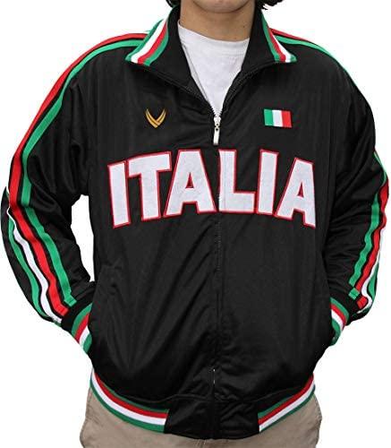 VIPELE Track Jacket, Italy, Sicily, Calabria: Clothing