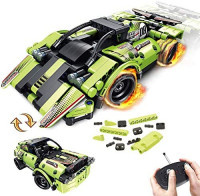 STEM Building Toys for Kids with 2-in-1 Remote Control Racer | Snap Together Engineering Kits Early Learning Racecar Building Blocks and Off-Road Best Gift for 6, 7,8 and 9+Year Old Boys and Girls: Toys & Games