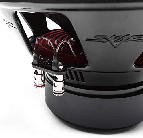 "Skar Audio SDR-12 D2 12"" 1200 Watt Max Power Dual 2 Ohm Car Subwoofer"