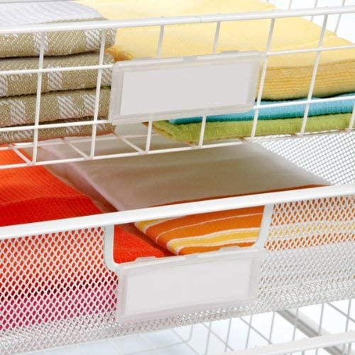 The Container Store Drawer Label Holders: Home & Kitchen