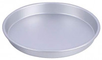 """Pizza Baking Pan Pizza Tray - 7/8/9 inch Stainless Steel Pizza Pan Round Pizza Baking Sheet Oven Tray, Non-toxic & Healthy Bakeware for Oven Baking (9""""): Kitchen & Dining"""