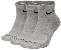 Nike Everyday Plus Cushion Ankle Socks 3-Pair Pack: Shoes