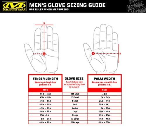 Black & Alpine Multicam Work Gloves by Mechanix Wear (X-Large, Black/White), Model:M2P-FFMC-011