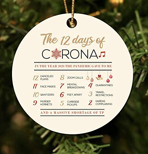 12 Days of Corona Christmas Ornament: Handmade