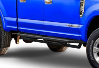APS Off-Road 6.5in Side Armor Aluminum Running Boards Compatible with Ford F250 F350 Super Duty 1999-2016 Crew Cab & Excursion 1998-2005 (Nerf Bars Side Steps Side Bars): Automotive