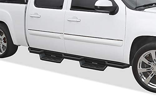 APS Drop Steps Running Boards Rocker Slider Compatible with 2001-2006 Chevy Silverado Sierra 1500 2500 3500 Crew Cab 4-Door & 07 Classic: Automotive